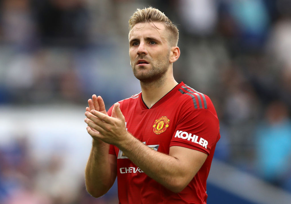 Luke Shaw set to miss Manchester United's clash with Watford as he serves mandatory seven-day concussion protocol