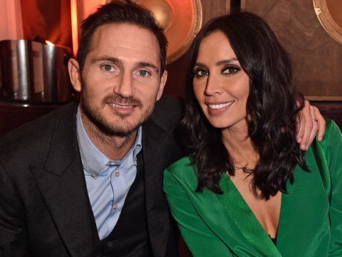 When is Christine Lampard's baby due and how many children does Frank Lampard have?