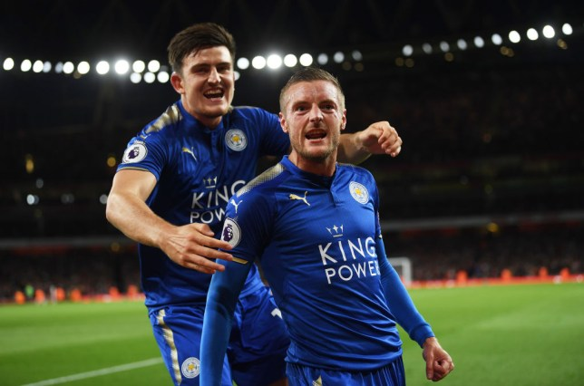 Image result for maguire and vardy