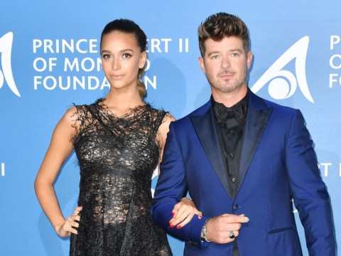 April Love Geary, 23, and Robin Thicke, 41, are expecting their second child… just six months after their first