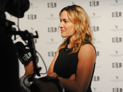 Kate Winslet opens the doors to her £4.1m Sussex mansion to crew as 'she film new Hollywood drama at home'