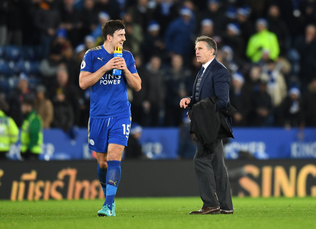 Claude Puel jokes about Manchester United's transfer move for Harry Maguire