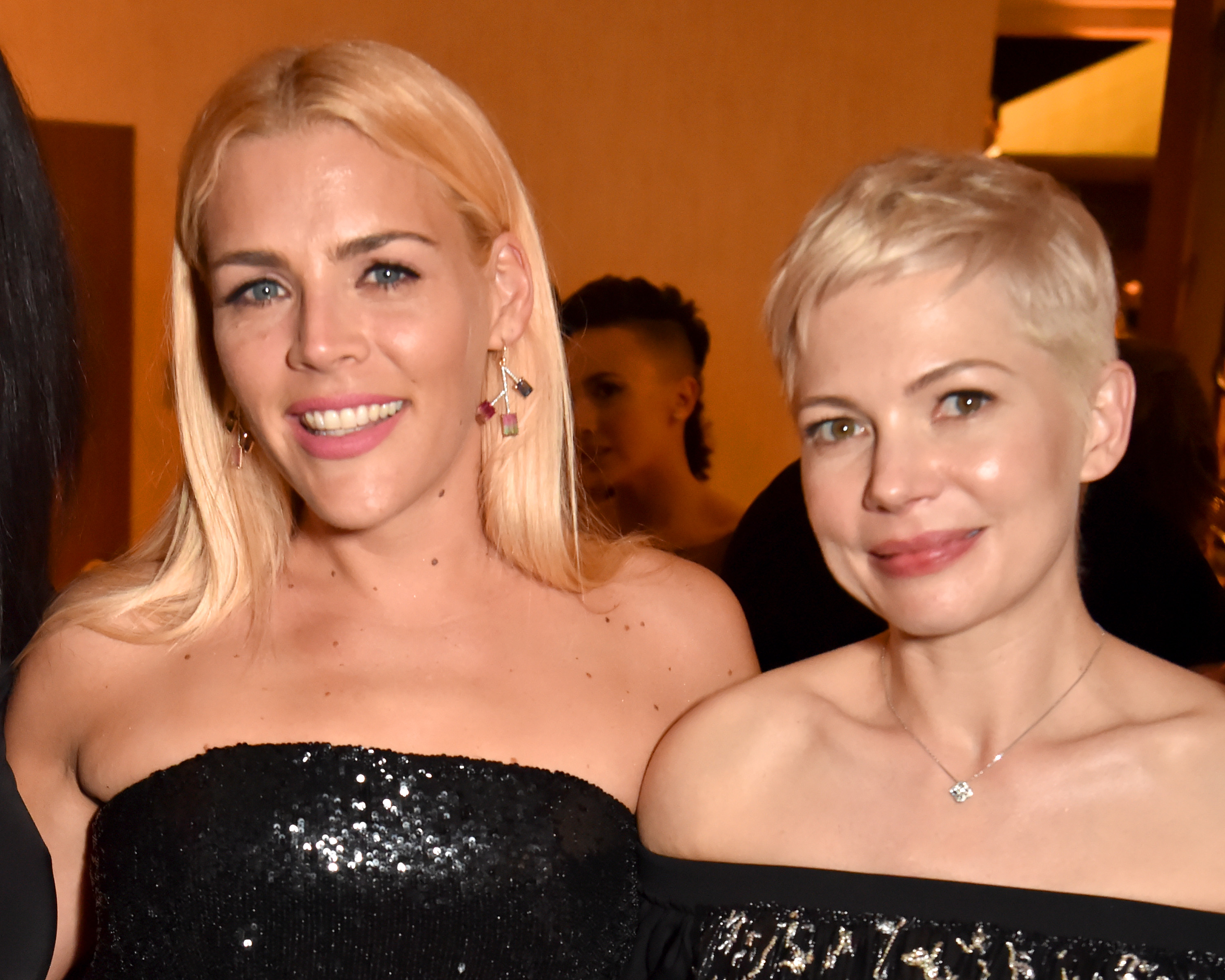 Michelle Williams and Busy Phillips have been left out of Dawson's Creek group chat