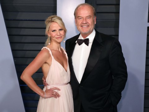 Kelsey Grammer has his wife's name tattooed on his 'pubic region' to 'put him off straying'