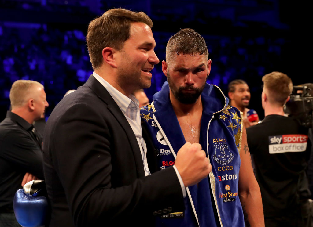 Oleksandr Usyk vs Tony Bellew targeted for 10 November, Eddie Hearn reveals