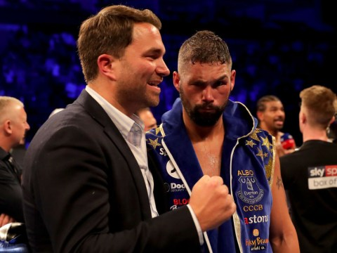 Oleksandr Usyk vs Tony Bellew targeted for 10 November, Eddie Hearn reveals