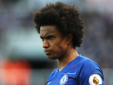Maurizio Sarri reveals Willian meeting after reporting late for Chelsea training