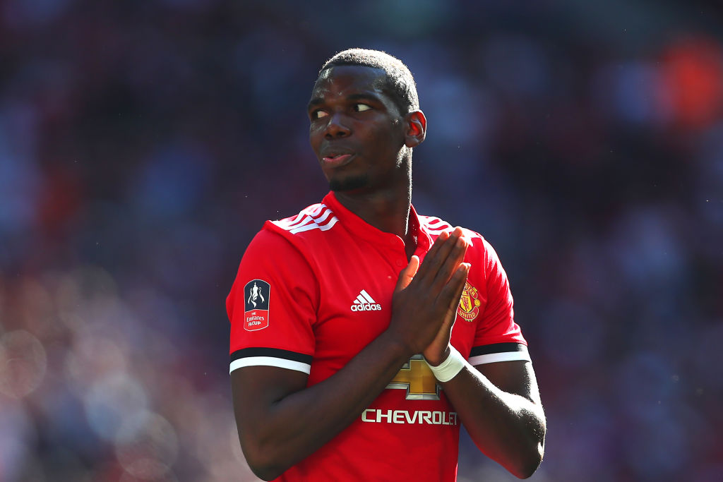 Gary Neville reacts to Paul Pogba's 'weird' penalty after Manchester United's win over Leicester