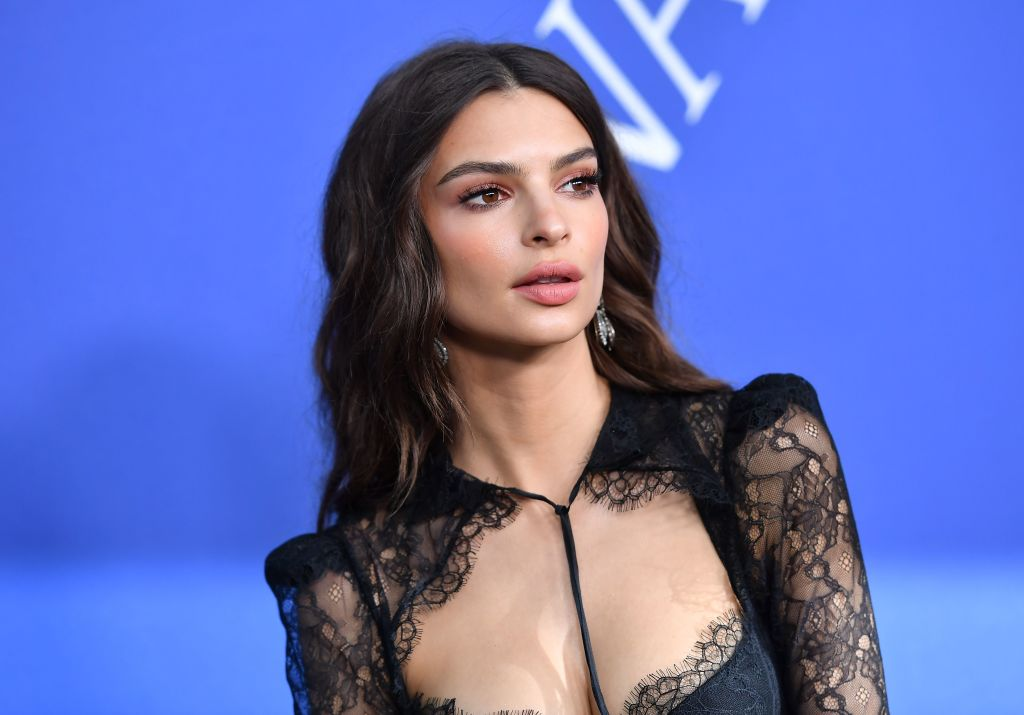 Emily Ratajkowski suffers mishap at dinner and posts the picture to Instagram anyway