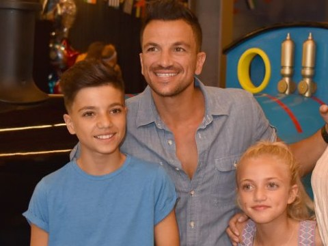 Peter Andre worries about what Junior and Princess can read about him and Katie Price online: 'It's scary'