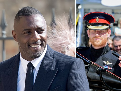 Idris Elba says attending the Royal Wedding was one of the 'highlights' of his life