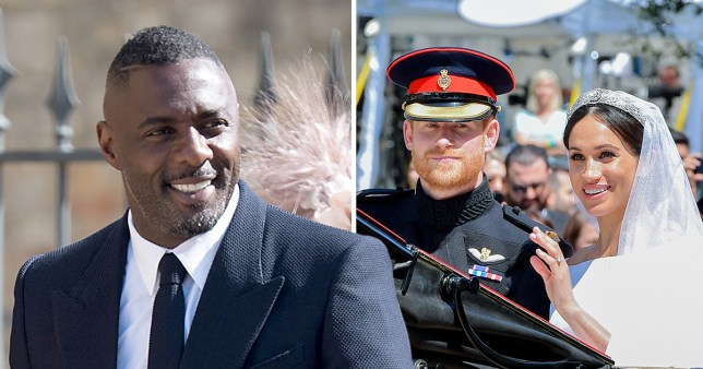 Picture: Getty Idris Elba says the Royal Wedding was one of the 'highlights' of his life