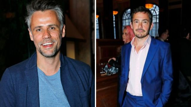 Richard Bacon and Giles Coren