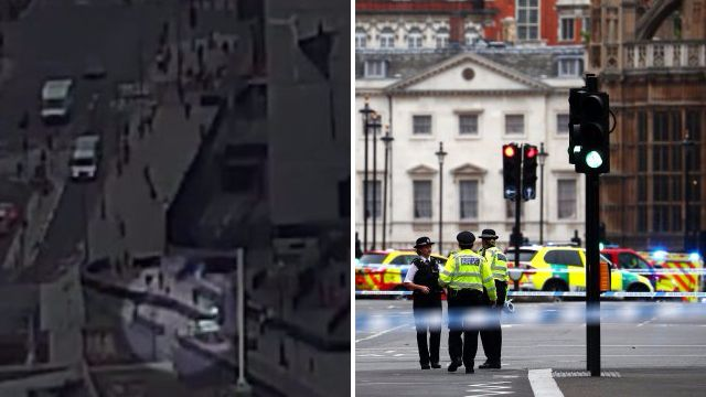 'Mysterious van' appears to follow Westminster terror attack car before crash