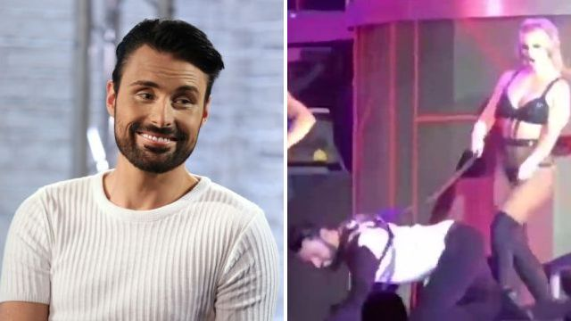 Rylan Clark-Neal gets emotional as he's whipped by Britney Spears six years after X Factor audition