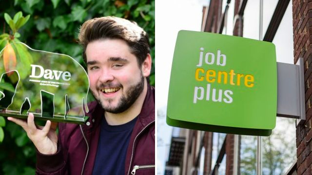 Joke about being fired from a Jobcentre wins this year's Edinburgh Fringe