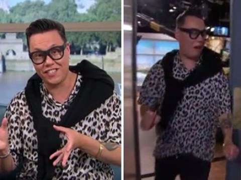 Gok Wan forced to abandon This Morning set as snake phobia gets too much: 'My hands