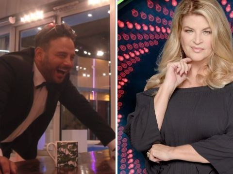 Ryan Thomas sends Celebrity Big Brother viewers into meltdown as he asks Kirstie Alley to 'look at his c**k'