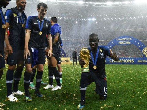Olivier Giroud explains how 'shy' N'Golo Kante was forced to lift World Cup trophy