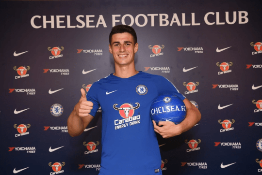promo code bcbb1 4b2cd Chelsea news: Chelsea announce £71m signing of Kepa ...