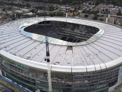When are Tottenham moving into their new stadium and which fixtures are being played at Wembley?