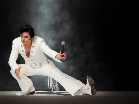 As a child I fell in love with Elvis. I've dedicated my life to impersonating him