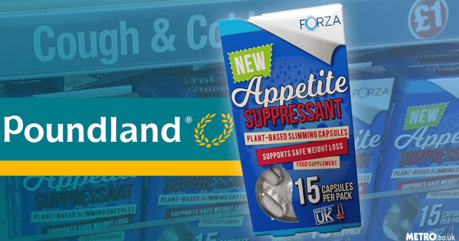 Poundland Continues To Sell Appetite Suppressants On Higher Shelves