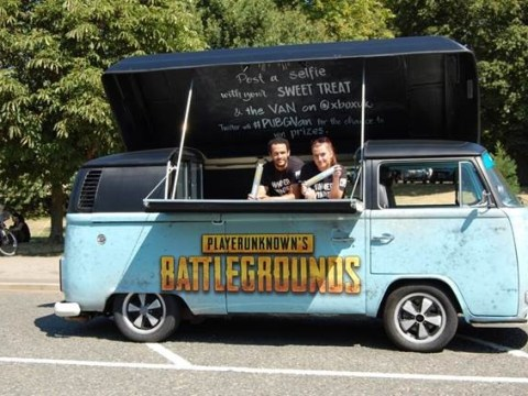 Microsoft brings PlayerUnknown's Battlegrounds' iconic blue camper van to life