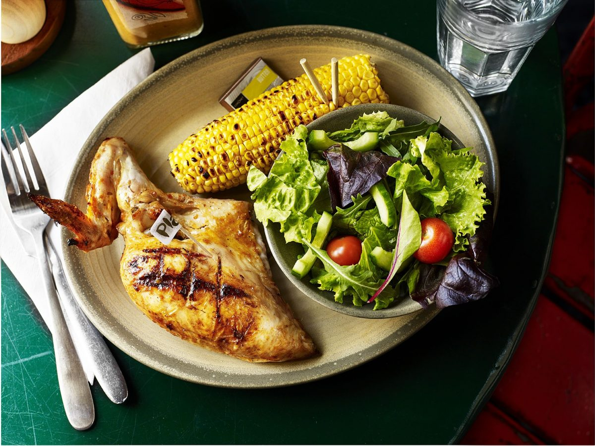 Nando's will give out free chicken or halloumi to A-level students on results day