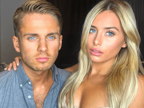 Ellie Brown hints that babies with Charlie Brake are 'pending' after he 'staged pictures of them making up' following fiery row