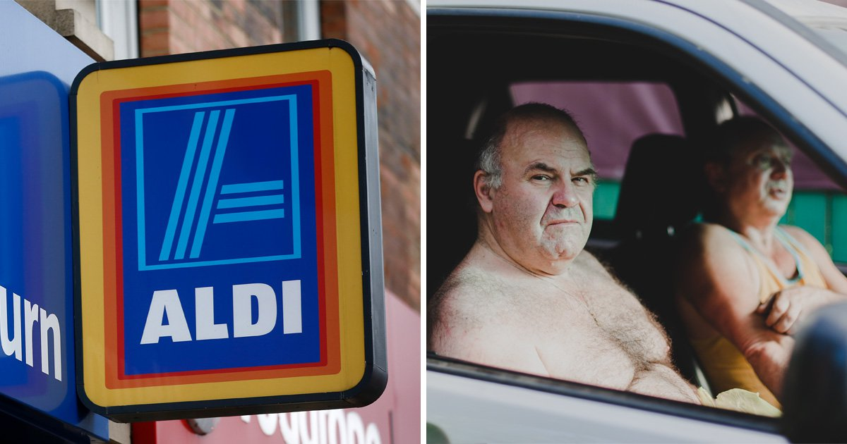 Aldi tells topless Welshmen they're a hygiene risk