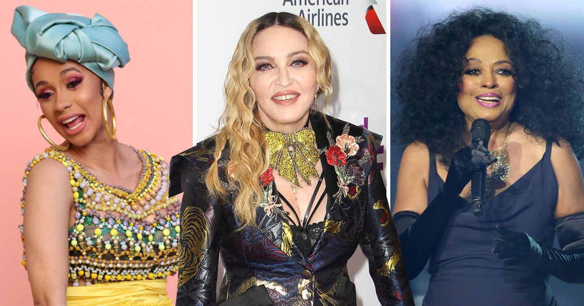 Madonna, Cardi B and Diana Ross for Glasto?