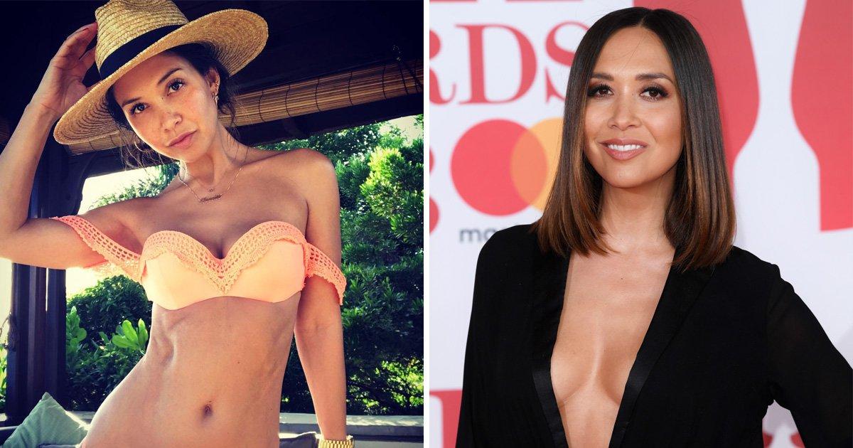 Myleene Klass leaves shower completely naked – only to run 'smack bang' into builder