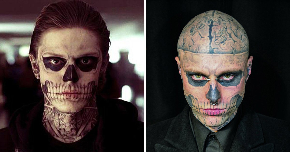 Rick Genest influenced one of the best scenes in American Horror Story