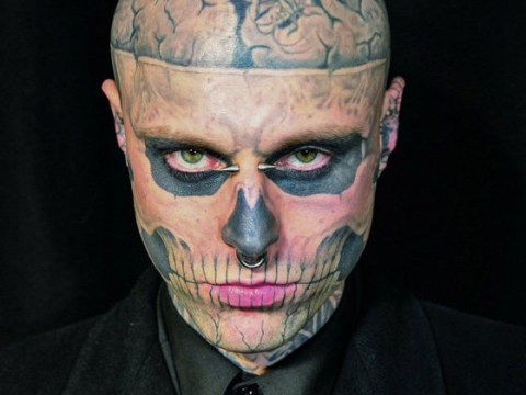 The late Rick Genest influenced one of the best scenes in American Horror Story – though he wasn't happy about it