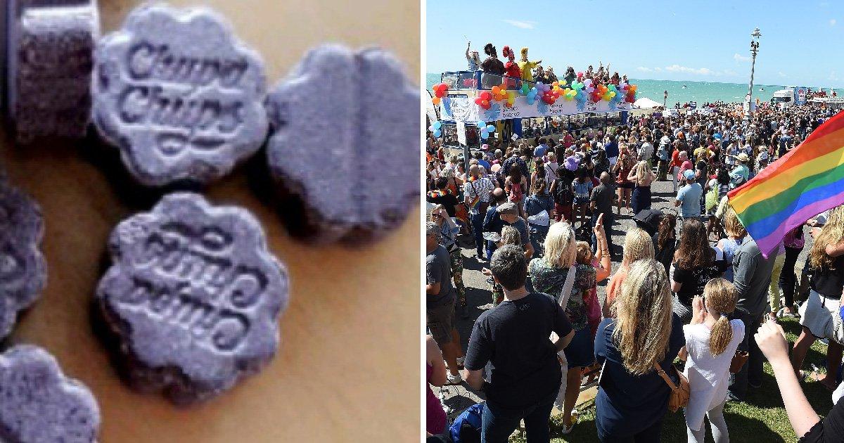 Lethal 'contaminated' Ecstasy pills flood Brighton days before Pride