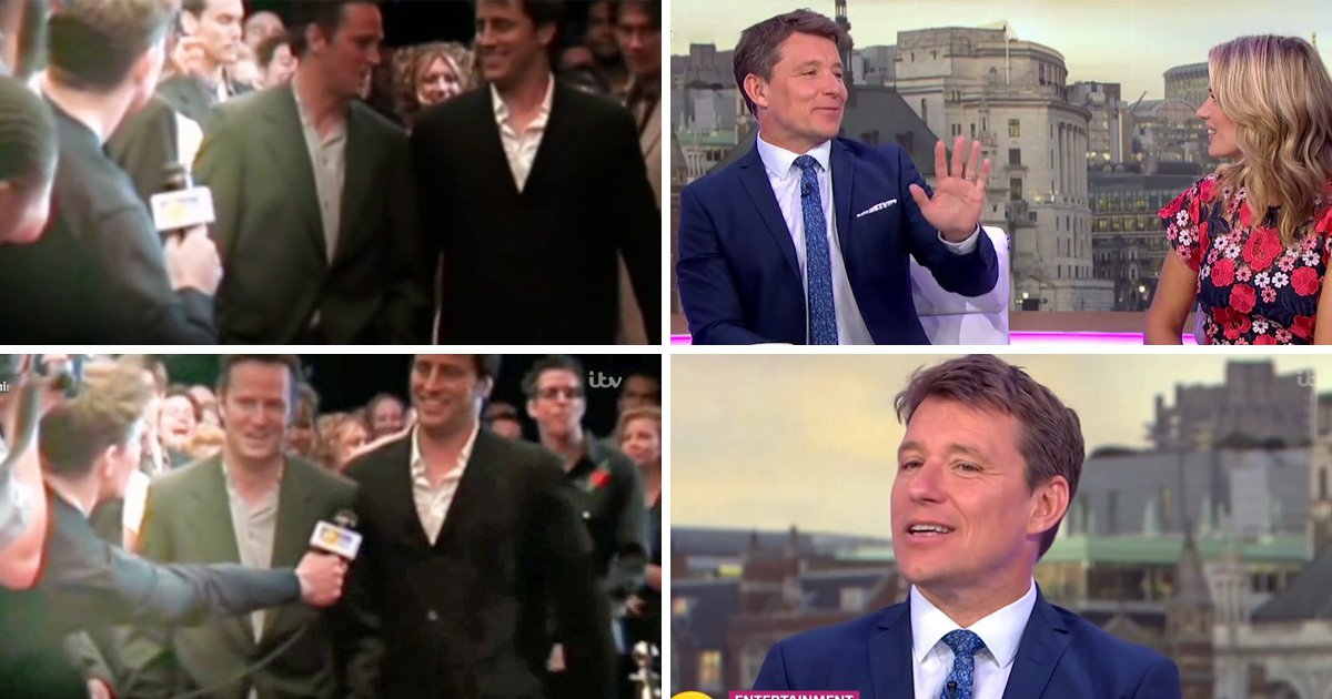 'He put out his hand': Ben Shephard's Friends cameo didn't go down well with Matt LeBlanc