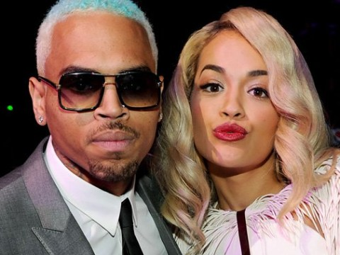 Chris Brown slides into Rita Ora's Instagram comments with a flirty message