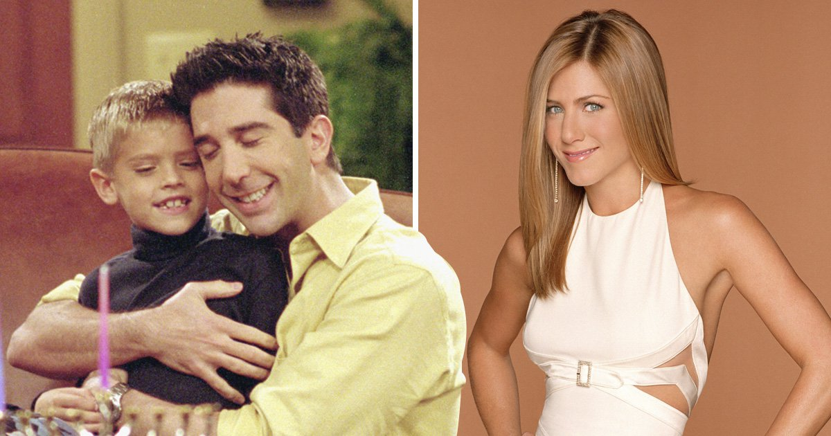 Friends fans can't handle the fact Ross' son Ben is now the same age Jennifer Aniston was when sitcom started