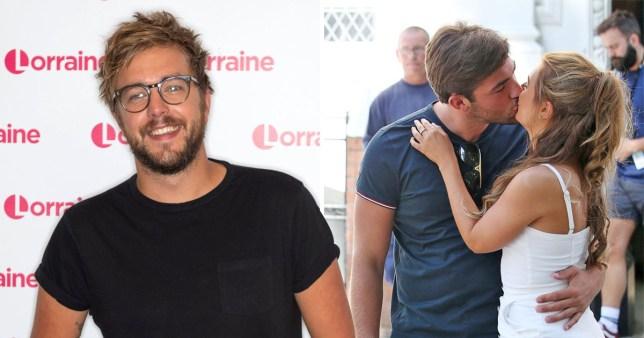 Iain Stirling says Jack and Dani 'kiss like his grandparents'Iain Stirling says Jack and Dani 'kiss like his grandparents'