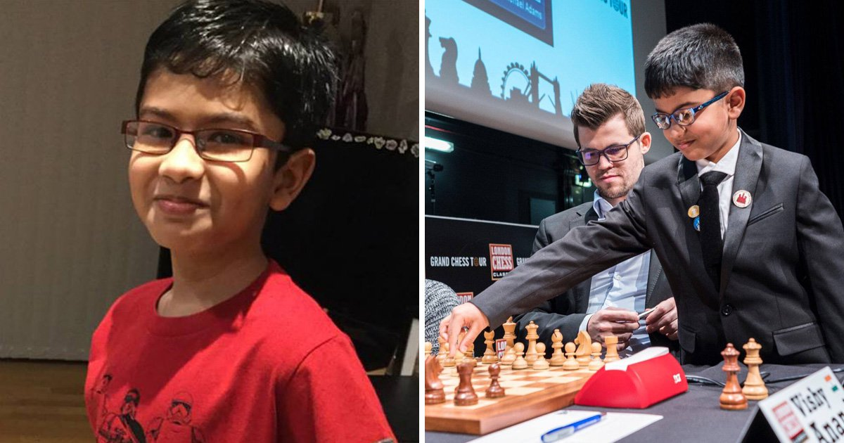 Child chess prodigy, 9, could be kicked out of the country because of his dad's visa