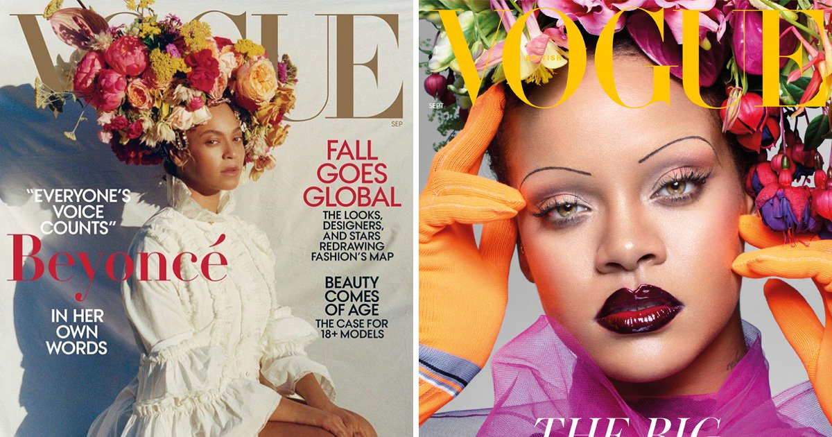 Beyonce fans divided over new Vogue cover as they compare her to Rihanna: 'I'm so underwhelmed'