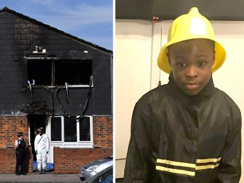 First picture of boy, 7, killed in Deptford arson attack as dad pays tribute