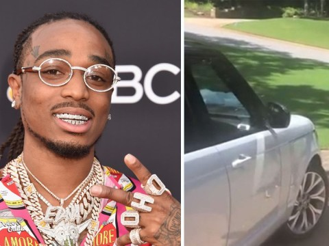 Watch the touching moment Migos rapper Quavo surprises his mum with a brand new car