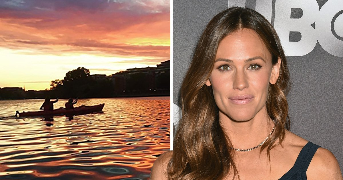 Jennifer Garner forced to call rescuers after getting lost on a kayaking adventure