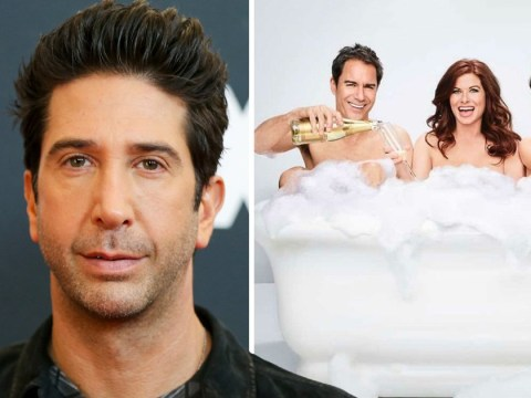 Friends star David Schwimmer joins Will And Grace as Debra Messing's 'love interest'