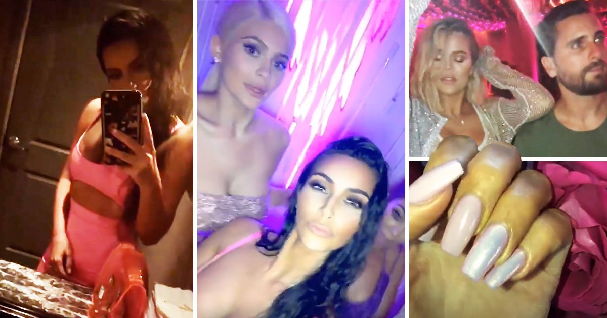 Inside Kylie Jenner's wild 21st birthday bash as she packs on PDA with Travis Scott and Caitlyn parties with Kardashians