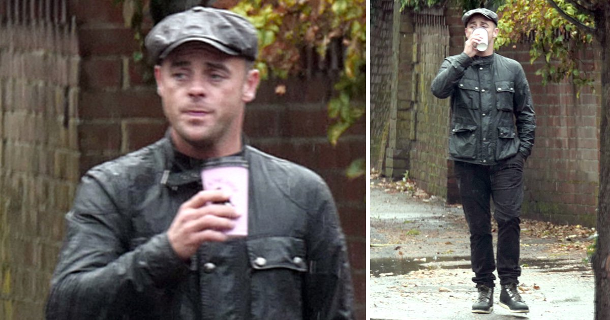 Ant McPartlin pictured looking downcast after announcing break from TV until 2019