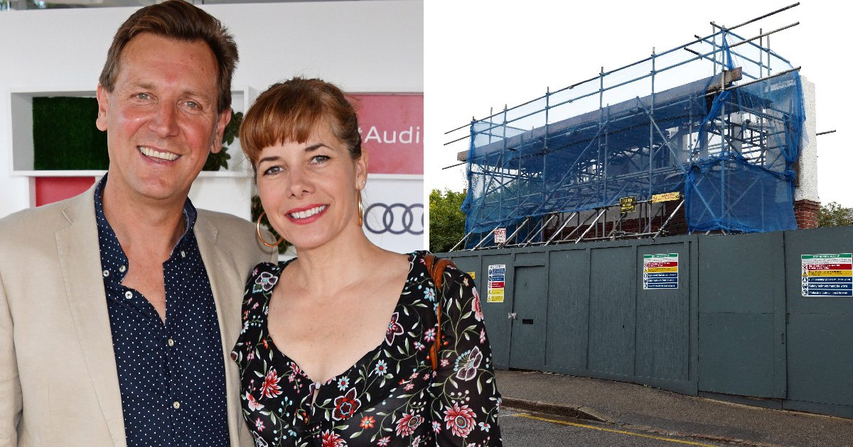 From demi plies to demolition: Darcey Bussell tears down £3 million London mansion