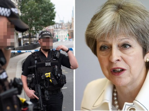 Theresa May says terror threat to UK remains severe after Westminster attack